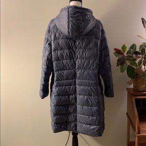 Halogen Jackets & Coats - Halogen Hooded Down Puffer Coat Ice Blue XXL 18